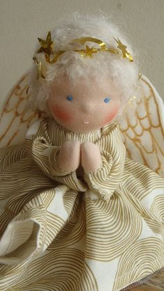 Waldorf Angel - reserved for Kate. $45.00, via Etsy.