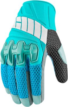 Overlord Glove - Blue | Products | Ride Icon