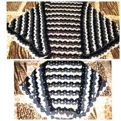 Mini me crochet shawl