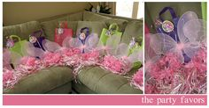 Fairy party favors..