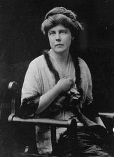 Lucy Burns. Arrested several times for woman suffrage.  Co-organized 1913 suffrage parade in Washington D.C.