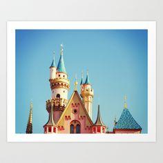 Disneyland Art Print by Libertad Leal Photography