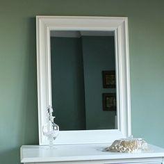 Eliza White Range - White Large Wall Mirror