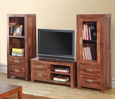 Furniture Classic Wooden Television Set In Online Furniture Store Buying the furniture into the reliable online furniture store