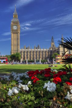 'Parliament And Big Ben' by Jeremy Vesely