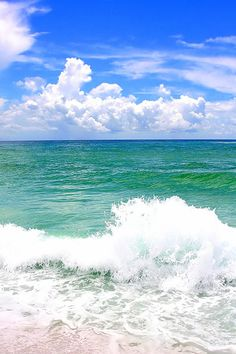 Destin, Florida ~ best white sand beaches!  You can walk out far w/o worrying about dropping off or undertow .. Hawaii has strong undercurrents.