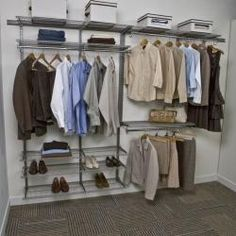 @Overstock   This 7 Foot FreedomRail Ventilated Closet Kit Can Be Used In  Any
