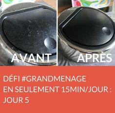 Jour 5 du défi #GRANDMENAGE : on n'oublie pas de nettoyer la poubelle ! Suivez jour après jour le défi #GRANDMENAGE de la rédac' : http://www.deco.fr/nettoyage/actualite-769410-defi-menage-15-minutes.html