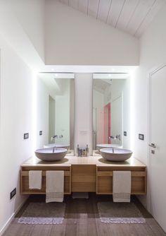 Bagno doppio lavabo