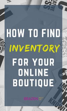 Fashion wholesale suppliers guide (+ listing & templates) In this article I share all my secrets for finding vetted wholesaler suppliers to help you find the best products for your online boutique. Wholesale Boutique Clothing, Online Fashion Boutique, Wholesale Fashion, Baby Boutique Clothing, Wholesale Shoes, Wholesale Jewelry, Boutique Names, Kids Boutique, Boutique Ideas