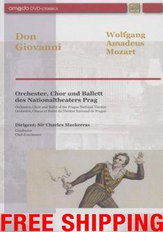 NEU DVD W A Mozart Don Giovanni live Prague Mackerras Ehrengast Präsident Havel National Theatre, Chor, Lp Vinyl, Live, Ebay, Orchestra, Ballet, Music