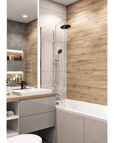 51 Ideas bathroom shower remodel diy living rooms for 2019 Bathroom Design Small, Bathroom Interior Design, Modern Bathroom, Restroom Design, Small Bathrooms, Interior Design Living Room Warm, Tub To Shower Remodel, Laundry In Bathroom, Bathroom Flooring