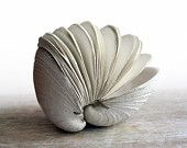 Offering No. 84 - Handstitched Clamshell Book Sculpture