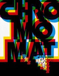 Atelier Paul Gabor - 1973 - Expérimentations typographiques