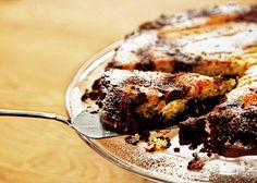 Amaretto and Chocolate Cake - This rich, moreish dessert is super easy to make and the perfect ending to a special meal.