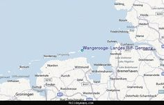 awesome Map of Wangerooge