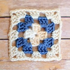 Basic Granny Square Crochet Pattern