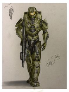 Master chief drawing :D Video Game News, Video Game Art, Video Games, Destiny Video Game, Halo Armor, Halo Series, Halo Game, Red Vs Blue, Computer Animation
