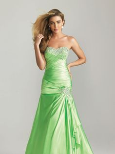 Night Moves in Lime for Prom 2013 #formalapproach #color