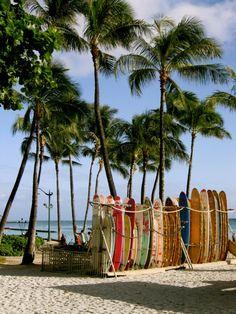 Waikiki Beach, Waikiki, Hawaii