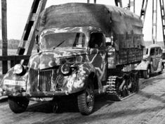 Jeep, Ww2 Tanks, Old Trucks, Panthers, World War Two, Military Vehicles, Wwii, Camouflage, Automobile