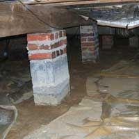 Crawlspace mold and Summer Heat. Heat mixes w/ air in your crawl space = perfect recipe for crawl space mold and wood rot. Pier And Beam Foundation, Foundation Repair, Remodeling Mobile Homes, Home Remodeling, Crawl Space Repair, Crawl Spaces, The Crawl, Girls Videos, Diy Flooring