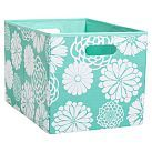 Mix `N Match Storage Large Bin, Single, Graphic Floral Pool | PB Teen
