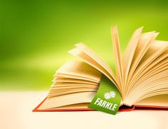 because March is claimed to be Month of books here's a Farkle bookmark for my book :)