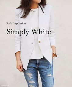 Style Inspiration: Simply White