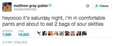 Literally Just 19 Hilarious Tweets From Matthew Gray Gubler