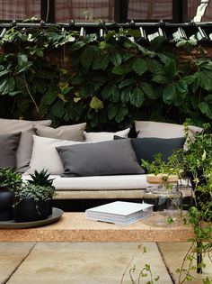Sinnerlig Ikea collection designed by Ilse Crawford Outdoor Retreat, Outdoor Seating, Outdoor Rooms, Outdoor Sofa, Outdoor Gardens, Outdoor Living, Outdoor Furniture Sets, Outdoor Decor, Ikea Outdoor