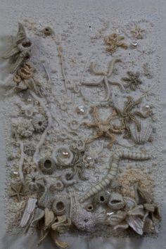 Incrustation Paysage Marin by Nicole Gelinas