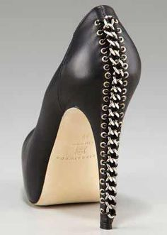 brian atwood chain heels Brian Atwood - That's hott! #shoes #heels