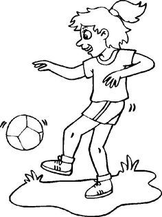 Sports Coloring Pages 4