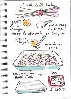 rhubarbe confite recette simplicime tirée du livre de Rose Bakery, elle sert ce dessert avec de la crème anglaise, moi plutôt tiède sur de la glace vanille, ou glacé avec des fraises fraiches… hummm