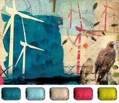 Illustration Friday :: The Artist's Palette - Jenny Dunn
