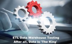 ETL Data Warehouse Testing – Testing of the Extract, Transform and Load functions before data is actually moved into a production Data Warehouse system.
