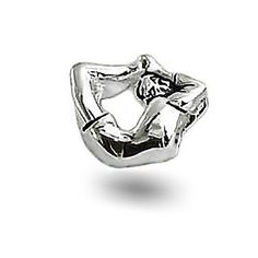 For Ri Gymnastics 925 Sterling Silver Bead Pandora Chamilia Compatible Yoga Jewelry, Men's Jewelry, Pandora Jewelry, Bling Jewelry, Contemporary Jewellery, Modern Jewelry, Sterling Silver Cross Pendant, Pandora Bracelet Charms, Silver Beads