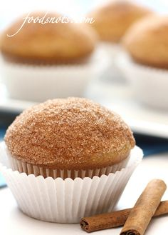 Cinnamon Puff Muffins by Food Snots, via Flickr
