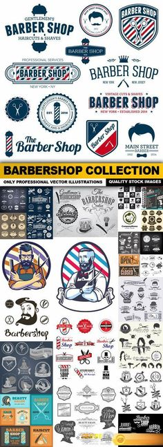 Find your Grapfix Desire With US http://www.desirefx.me/barbershop-collection-25-vector/