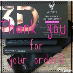 Thank you to all my followers for your orders!!! #younique #thankyou