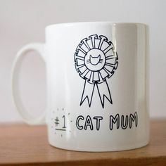 A cute + fun mug for the crazy cat lady in your life, from you, OR the cat.Make your favourite cat mum smile with this mug just for them. It tells them exactly how top notch their cat parenting skills are. 'Happy Mother's Day to the World's #1 Cat Mum' features prominently on both sides of the mug (suitable for left AND right handed mug users alike!) The perfect mug for fur-mothers and human-mothers-who-also-like-cats alike.Dishwasher + microwave proof ceramic mug13 fluid ounce capacity