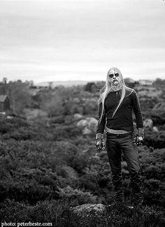 Kvitrafn - Pic by Peter Beste Black Metal, Metal Music Bands, 80s Goth, Viking Metal, Rock Artists, Power Metal, Band Photos, Thrash Metal, Metalhead