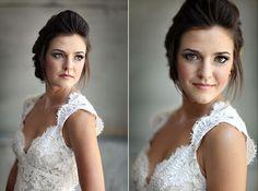 Vestido de Noiva com Alças - Peguei o Bouquet
