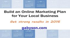 gabyn886@gmail.com, How to build your online marketing plan is an article that will help you know how to build your online marketing plan step…