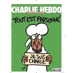 """La une de Charlie Hebdo ce mercredi ! #jesuischarlie #charlieHebdo"""