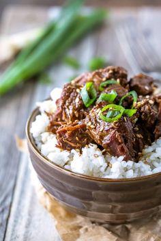 Instant Pot Korean Beef - I Heart Eating