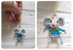 The cutest wee little mouse tutorial, in Dutch.