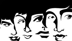 The Beatles By Xavi | Famous People Cartoon | TOONPOOL