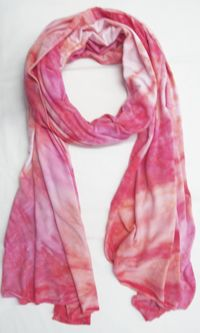 """Scarf Wrap by LOVE TANJANE: Designed and hand dyed in Southern California, to be used as a scarf, wrap or sarong. Measures 24 x 72"""". Available in a variety of colors. $78#Scarf #Love_Tanjane"""